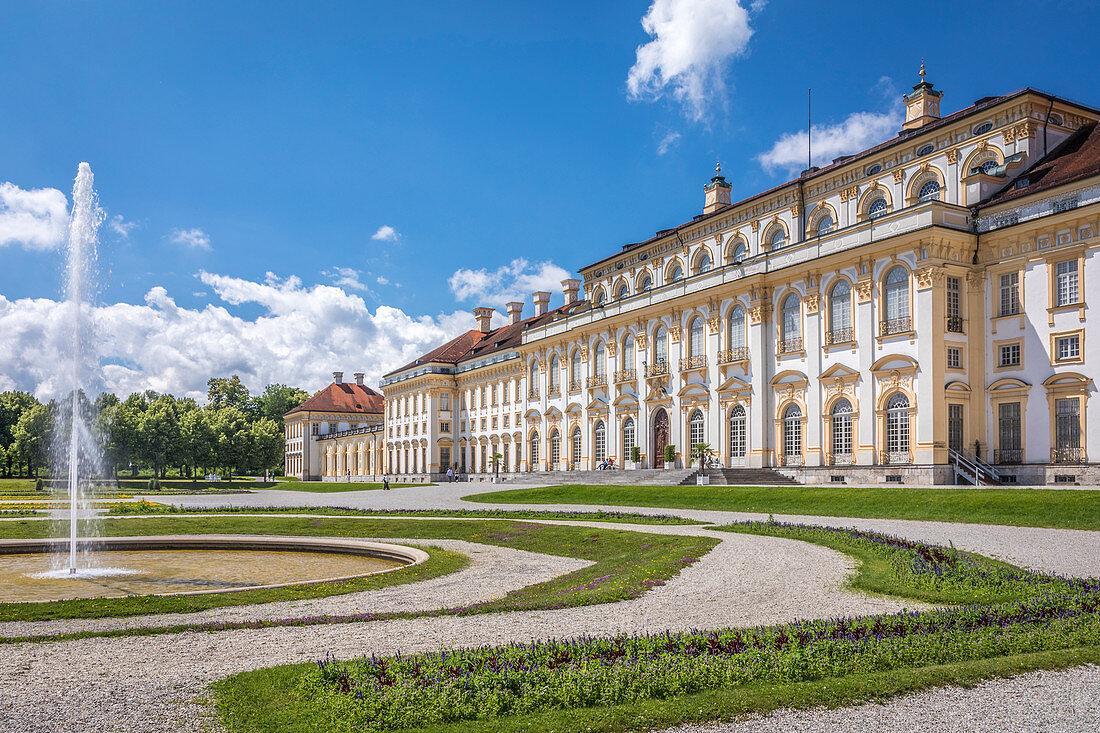 New Schleißheim Palace, Oberschleissheim, Upper Bavaria, Bavaria, Germany