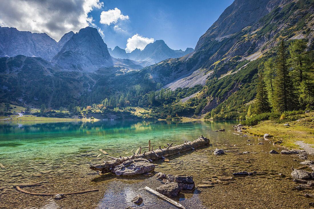 Seebensee im Gaistal, Ehrwald in Tirol, Tirol, Österreich