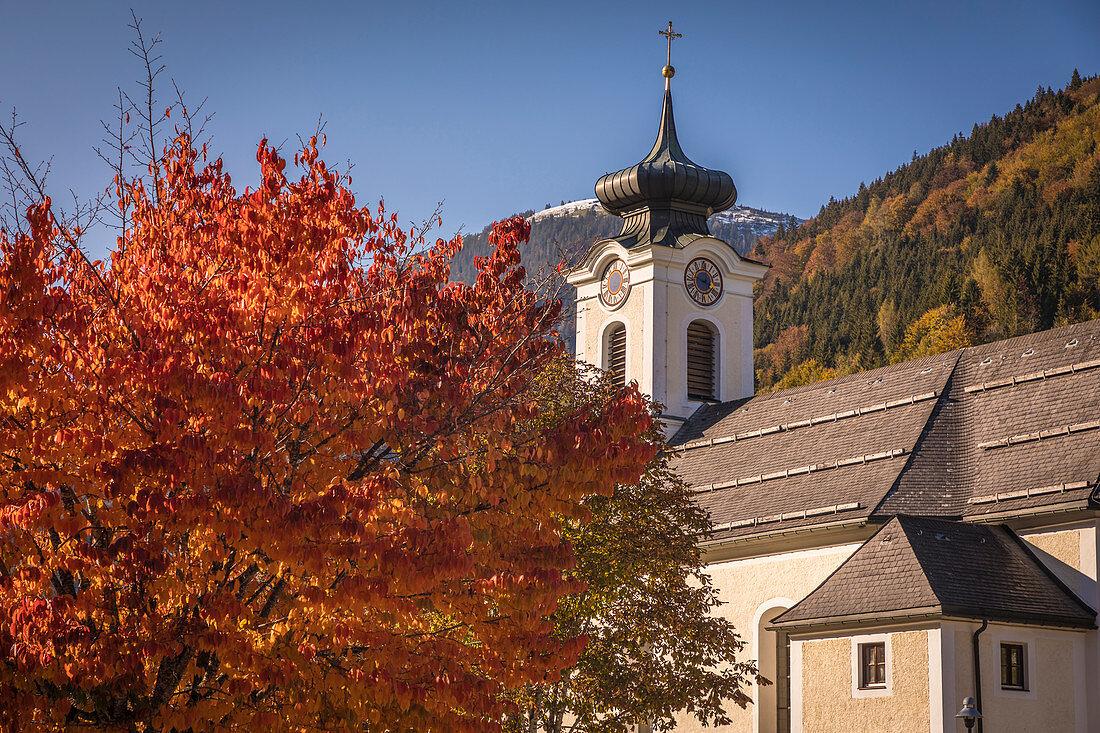 Parish Church Thiersee-Landl, Landl, Tyrol, Austria