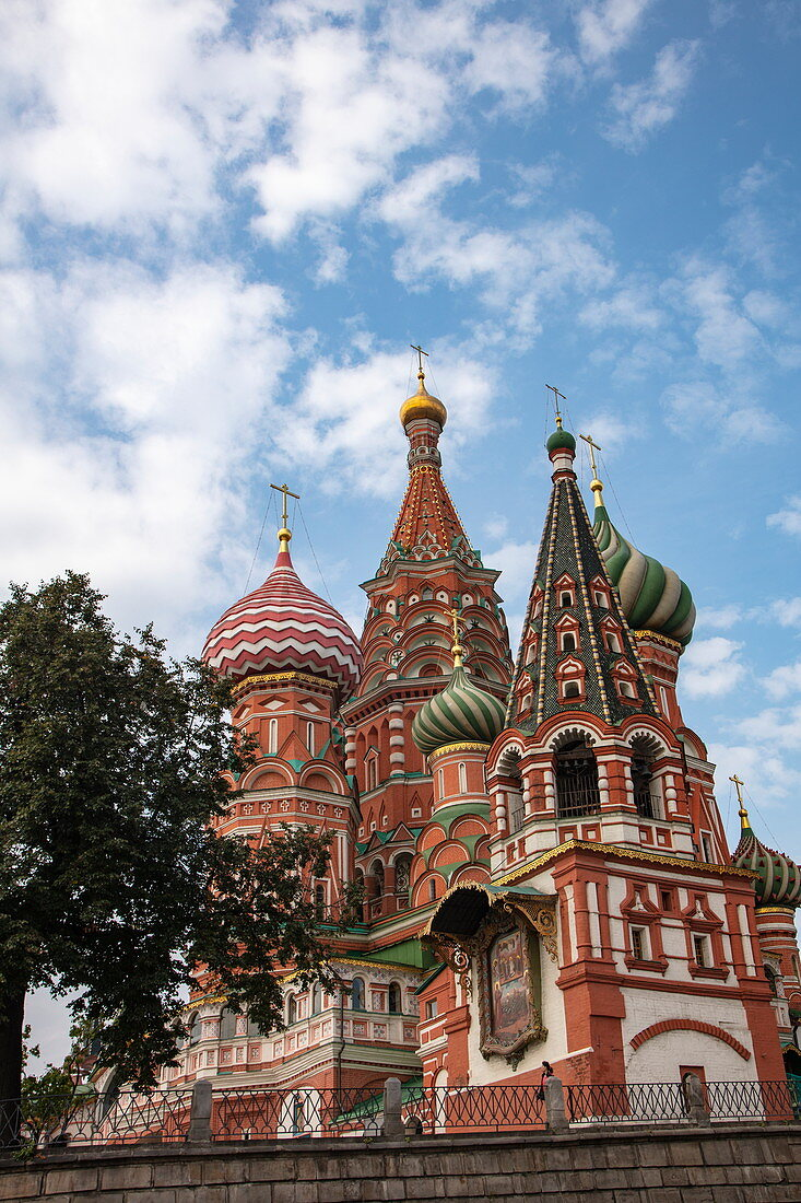 St. Basil's Cathedral on Red Square, Moscow, Russia, Europe