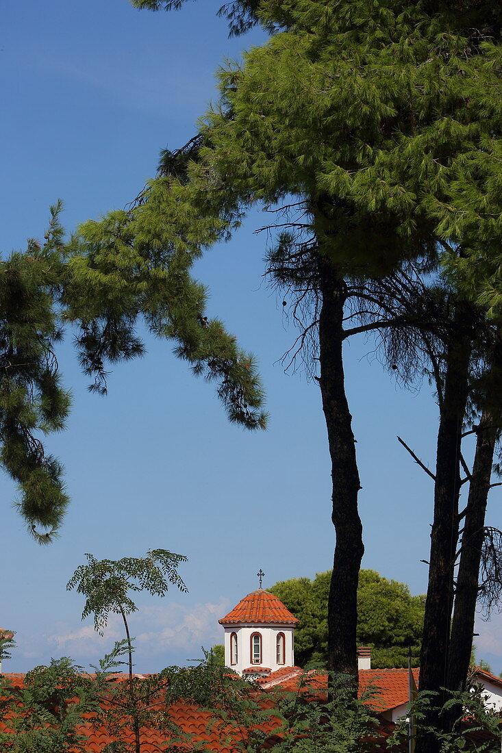 Faneromenis Monastery, Lefkada, Lafkada Island, Ionian Islands, Greece