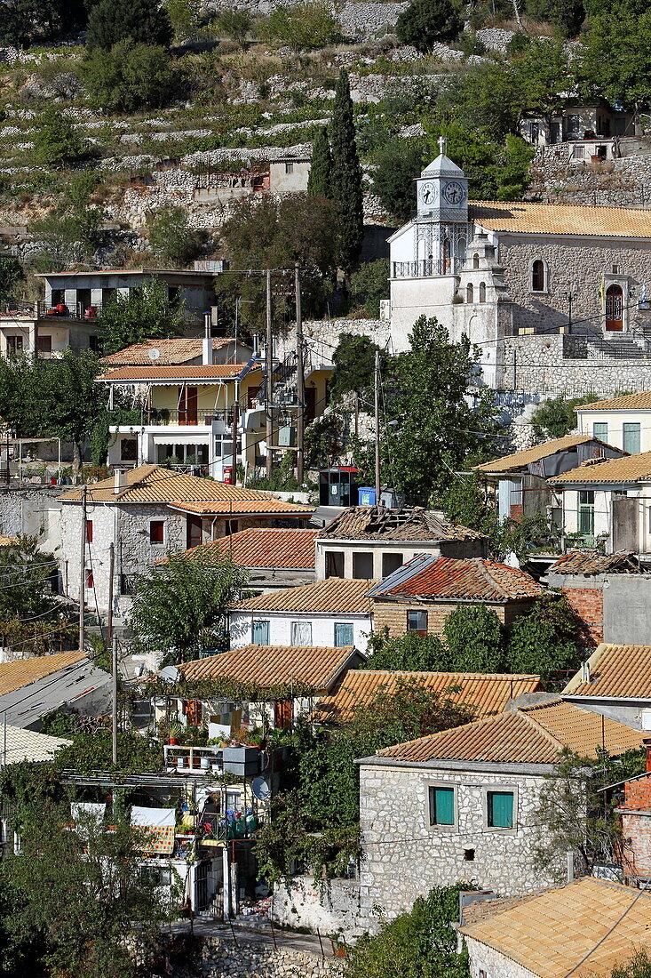 Place Exanthia, Lefkada Island, Ionian Islands, Greece