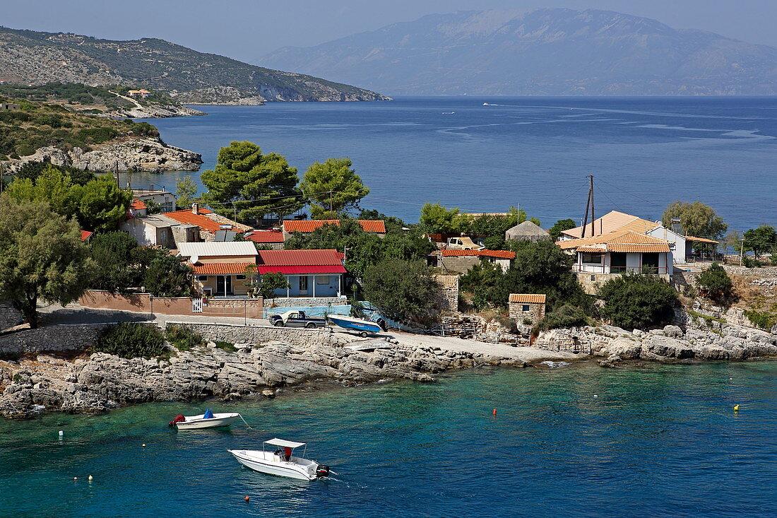 Headland with place Mikro Nisi, Zakynthos Island, Ionian Islands, Greece