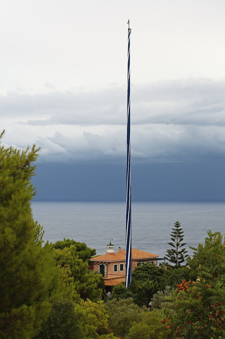 Keri Peninsula Lighthouse, Zakynthos Island, Ionian Islands, Greece