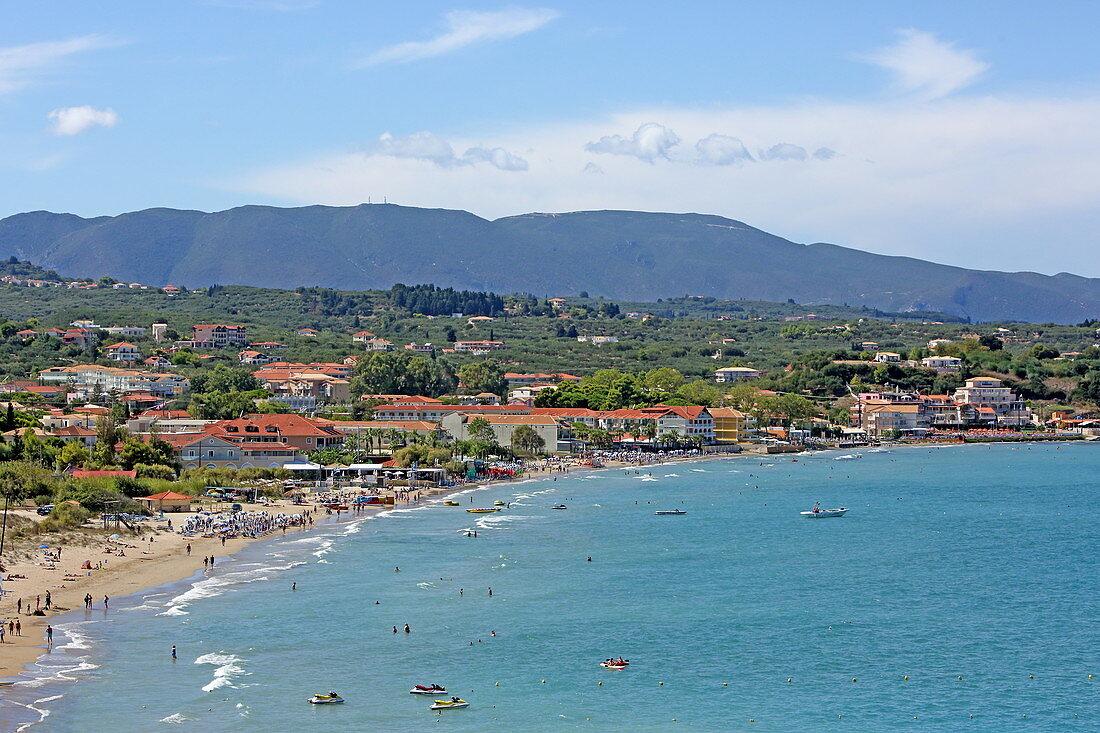 Resort Tsilivi, Zakynthos Island, Ionian Islands, Greece