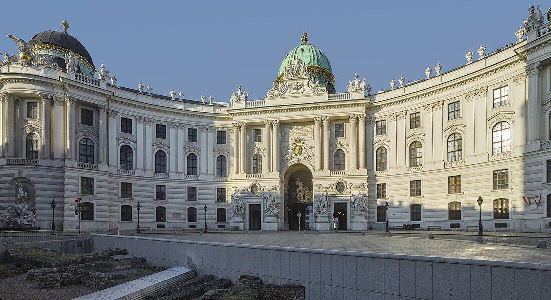 Hofburg, Michaelaplatz, 1st district Innere Stadt, Vienna, Austria