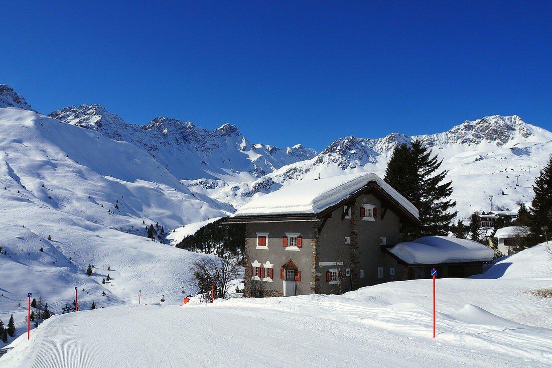 in Arosa, Graubünden, Switzerland