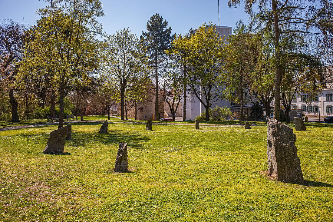 Motherwell-Park in Schweinfurt, Bayern, Deutschland