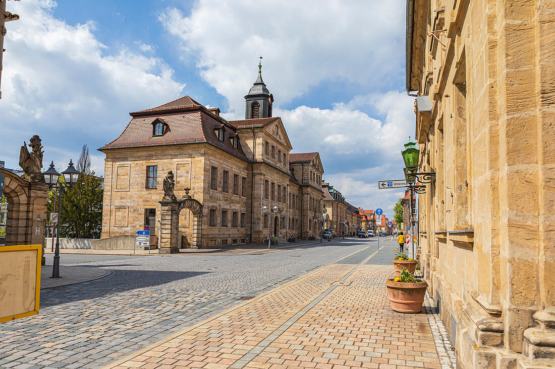 Friedrichstrasse in Bayreuth, Bavaria, Germany