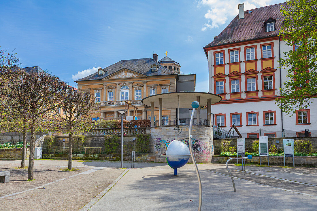 La Spezia Square in Bayreuth, Bavaria, Germany