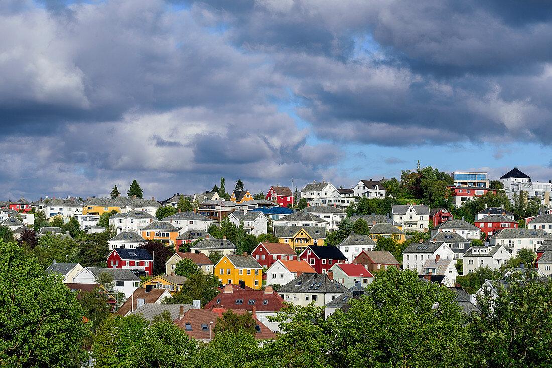 View from Kristiansten Fortress, Trondheim, Norway