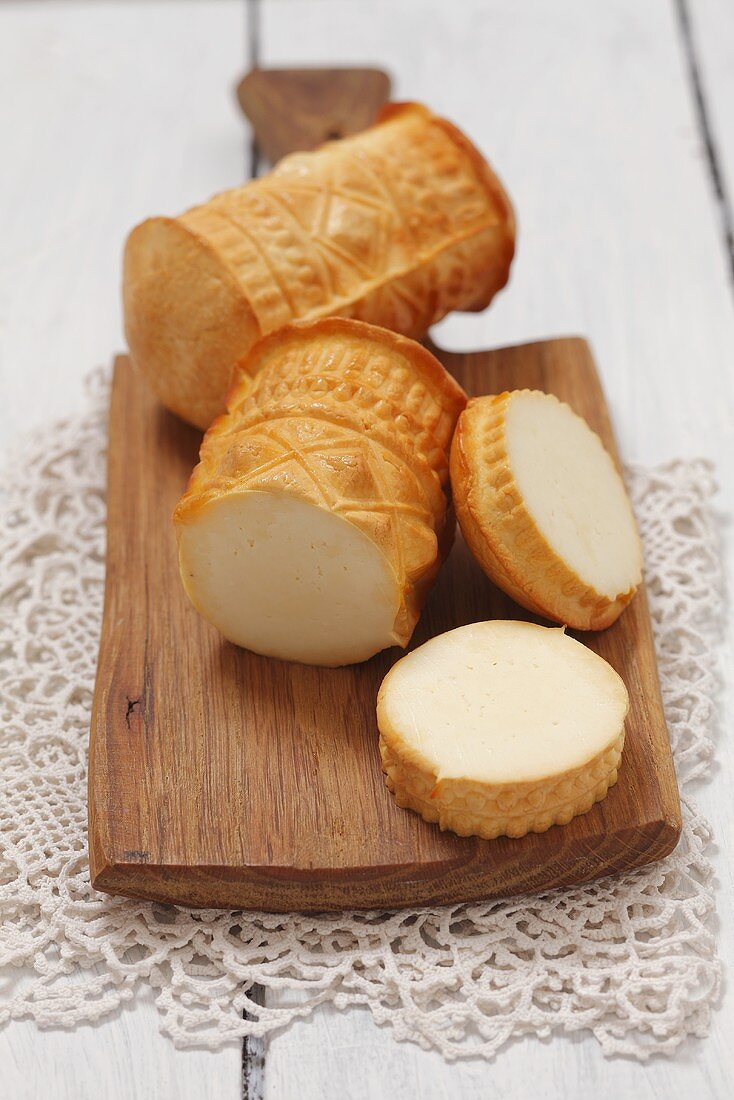 Oscypek (hard cheese made of sheep's milk, Poland)