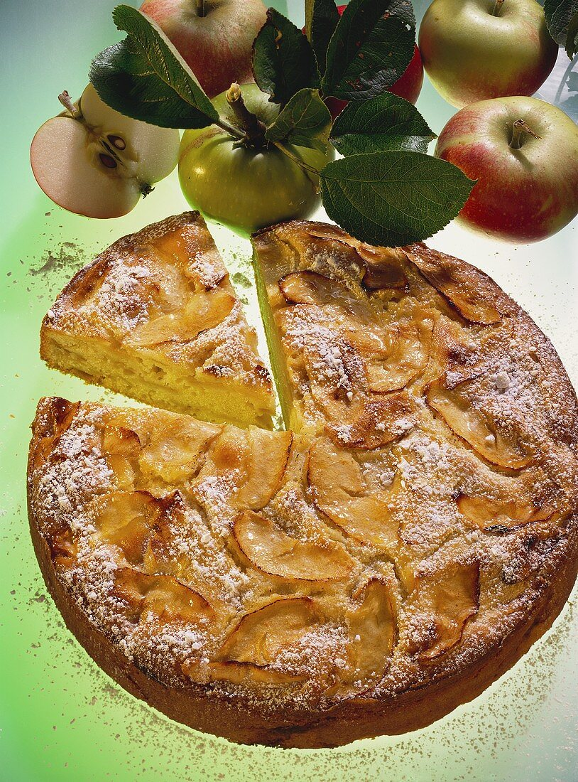 Apple cake with Calvados