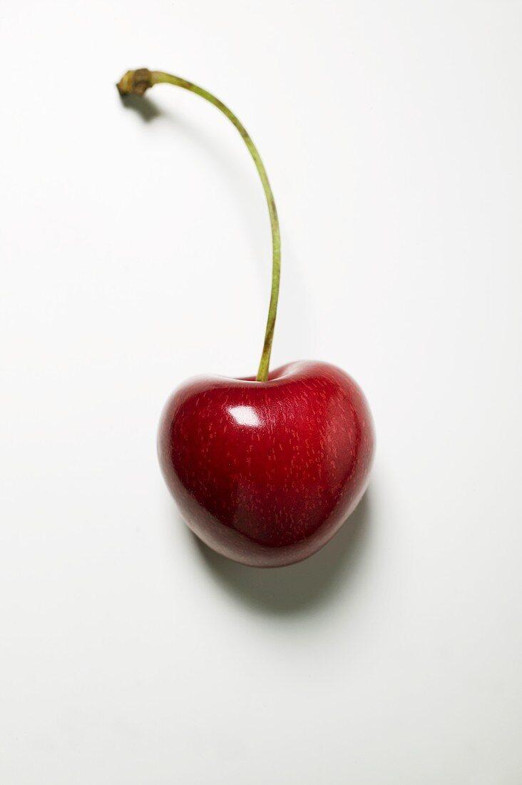 Cherry with stalk