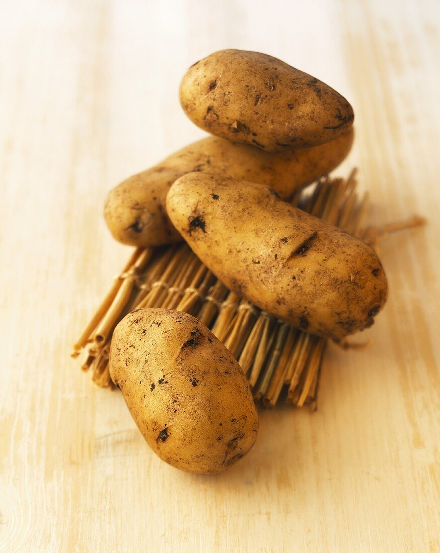 French potatoes (La Ratte variety)