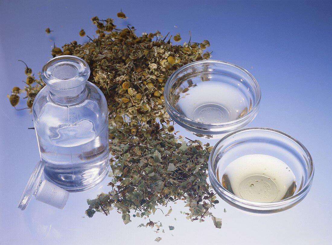 Ingredients for Facial Lotion; regular Skin