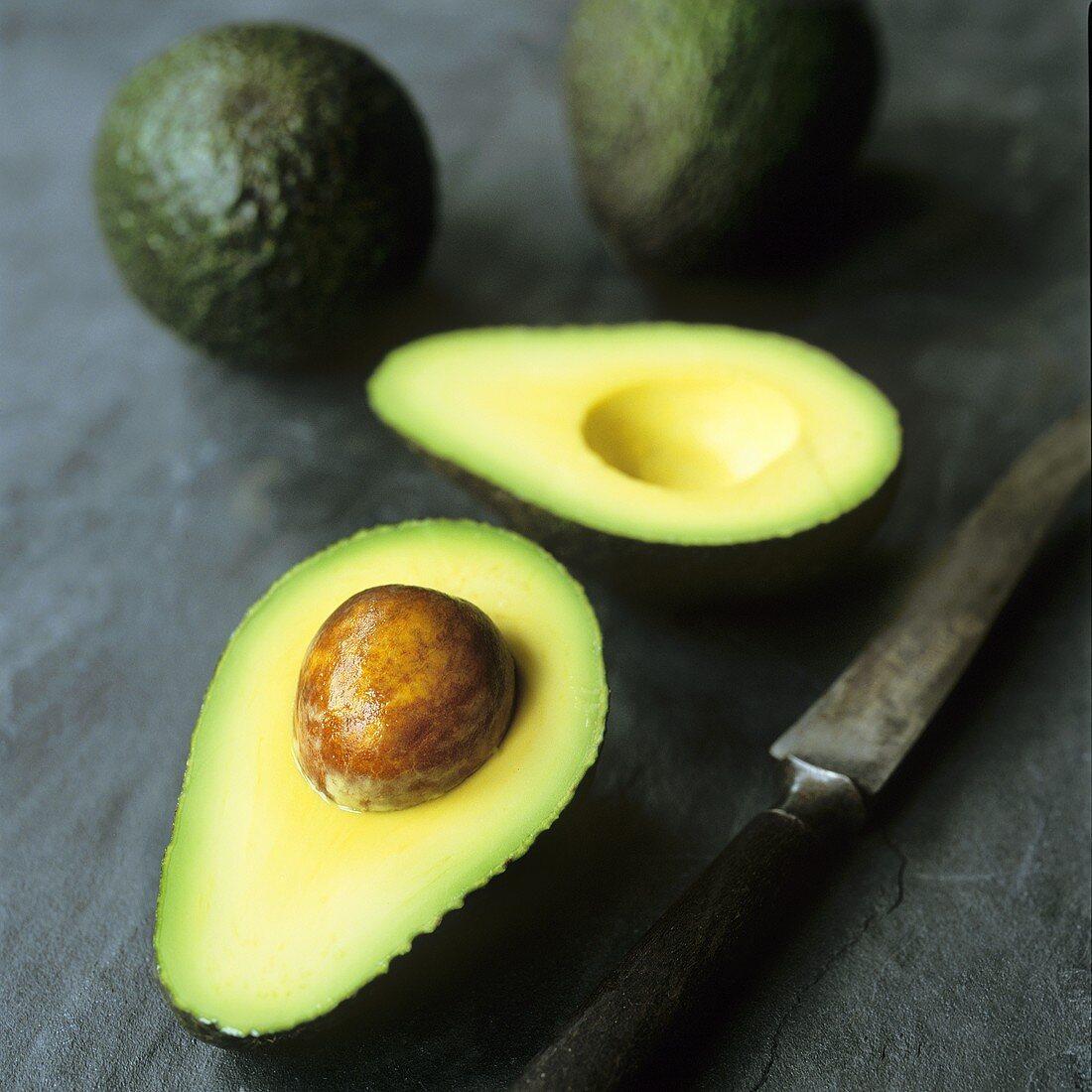 Avocado with stone
