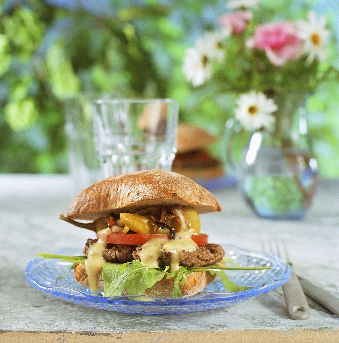 Hamburger, home-made