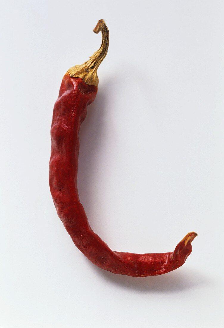 A Dried De Arbol Chili