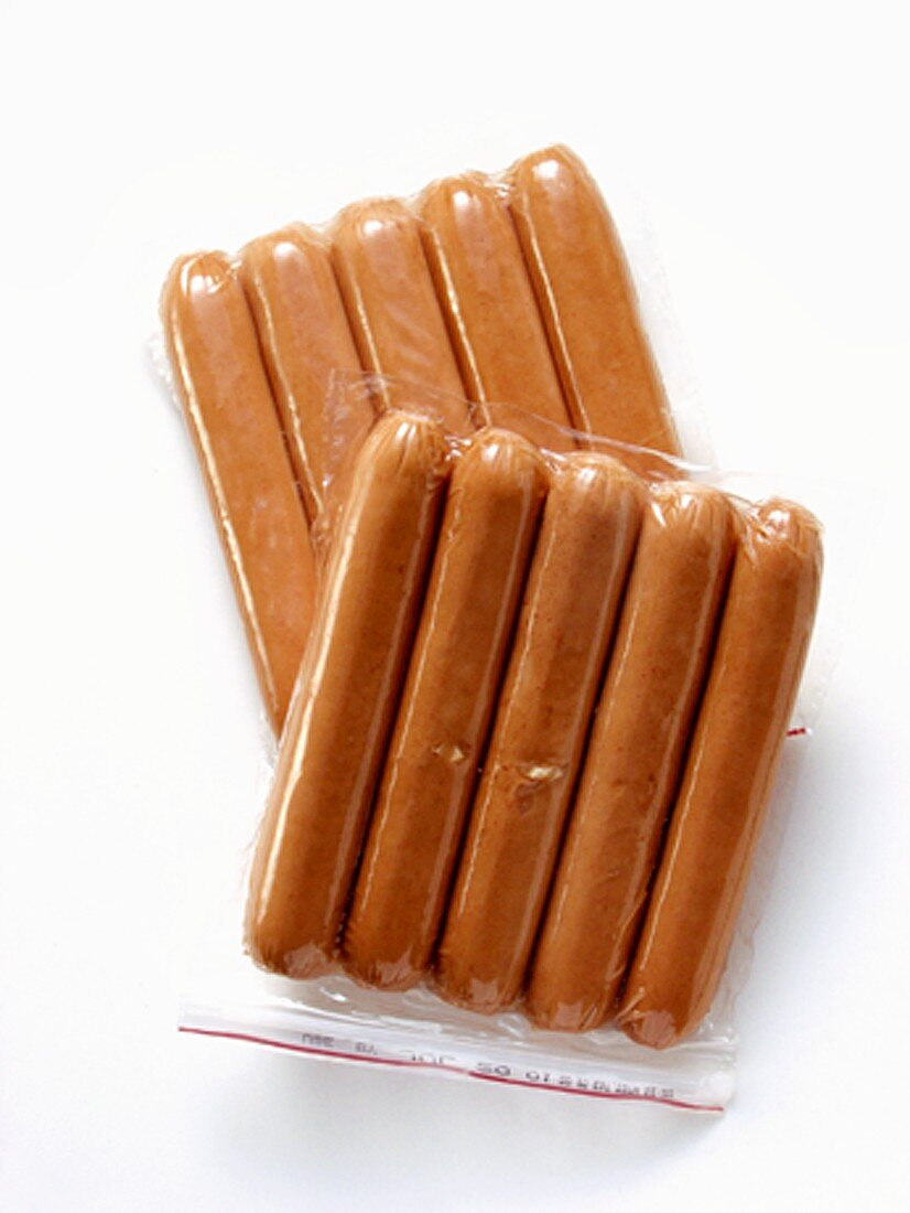 Two Packages of Hot Dogs