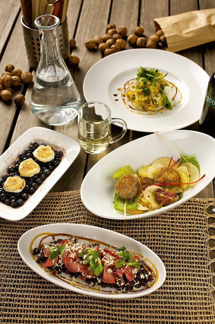Dishes to serve with Viennese new wine (Heuriger)