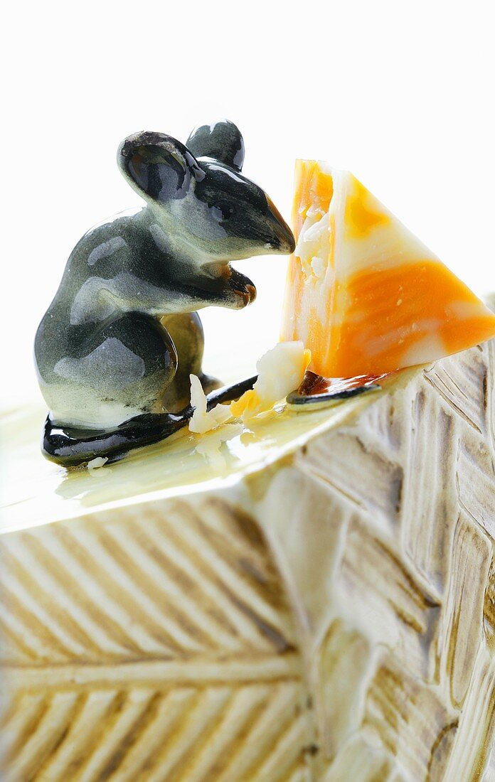 Half Moon Marble Jack cheese with mouse