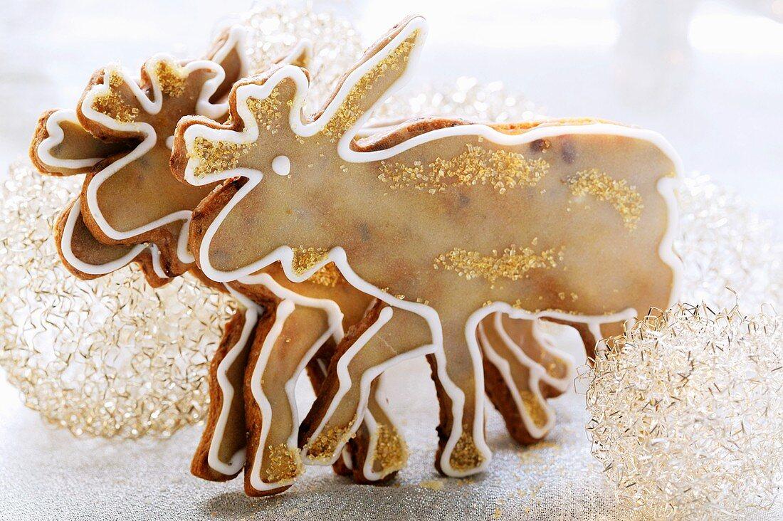 Chocolate elk biscuits