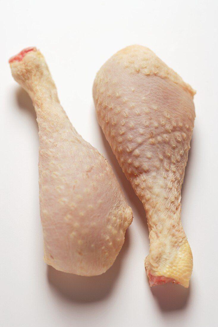 Two corn-fed poularde legs