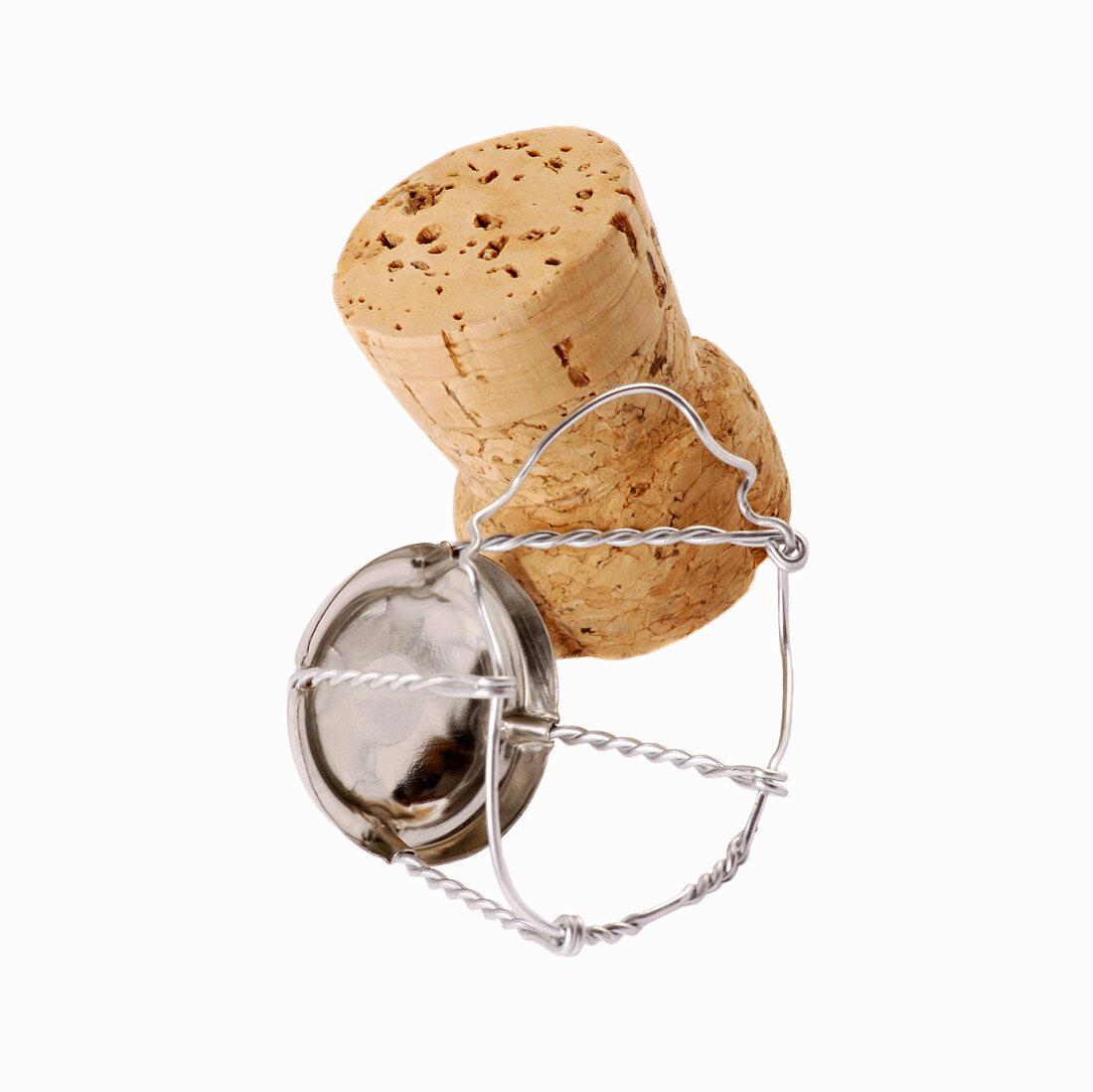 A champagne cork