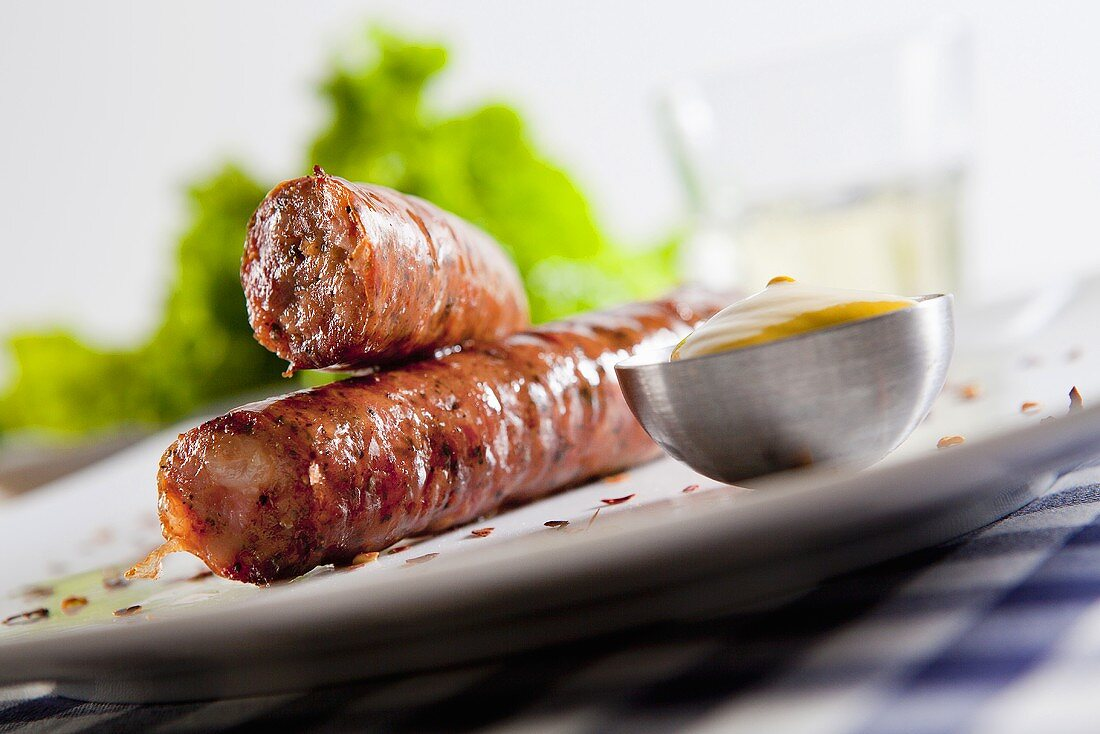 Loukaniko (Greek pork sausage)