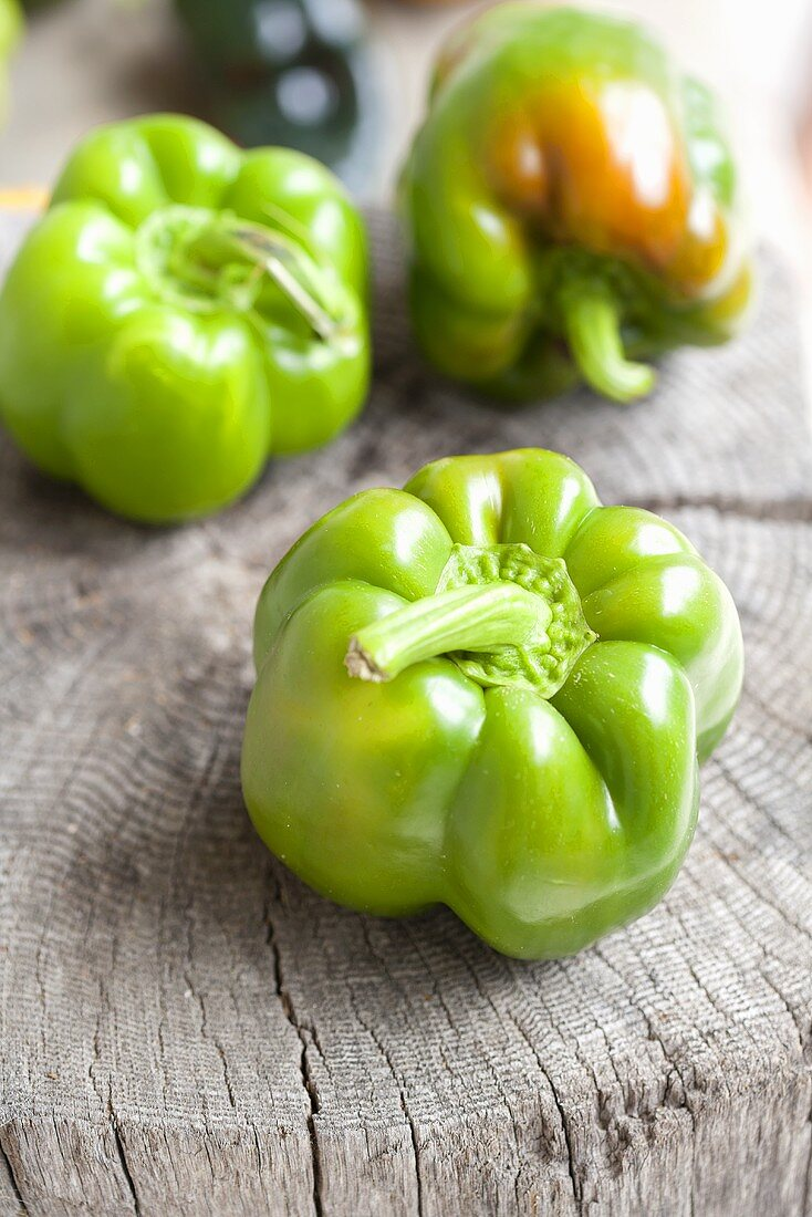 Whole Organic Green Peppers