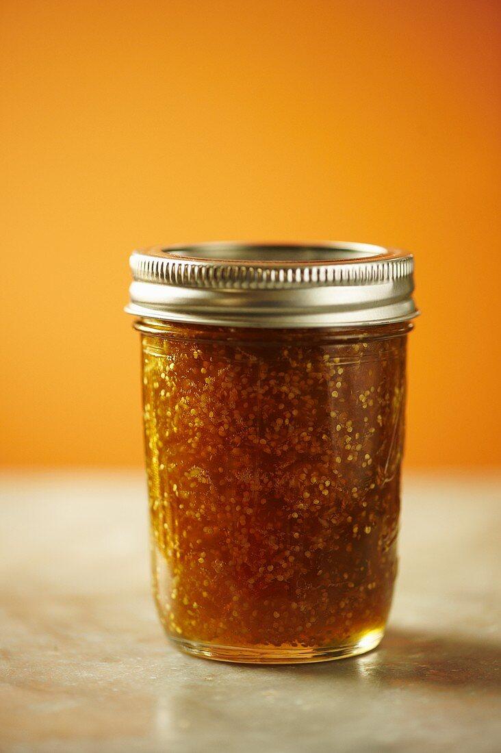 Small Jar of Husk Cherry (Ground Cherry) Jam