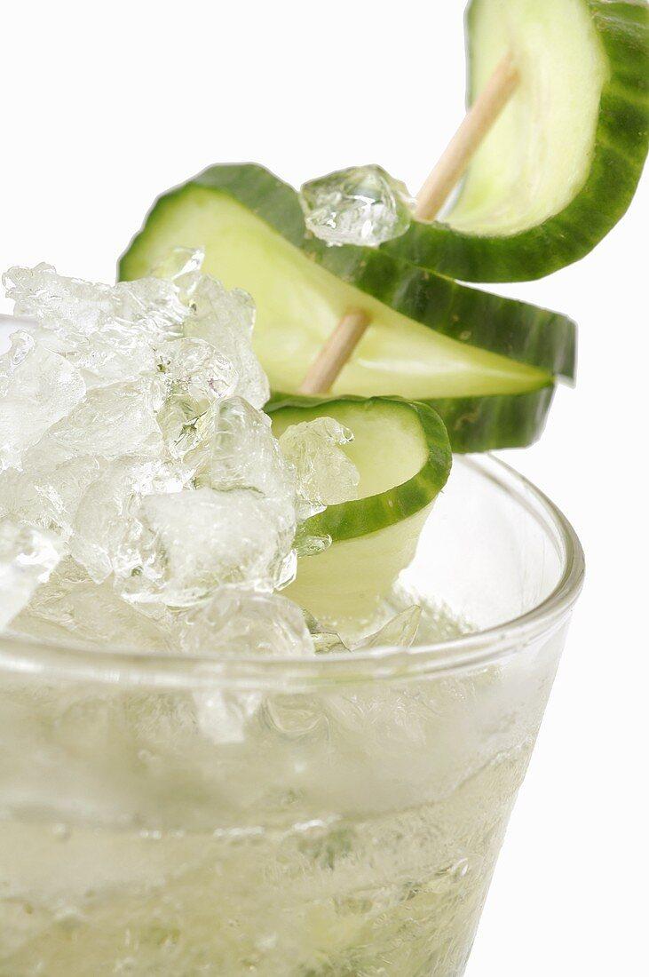 Munich Mule (Vodka, Ginger Ale and cucumber)