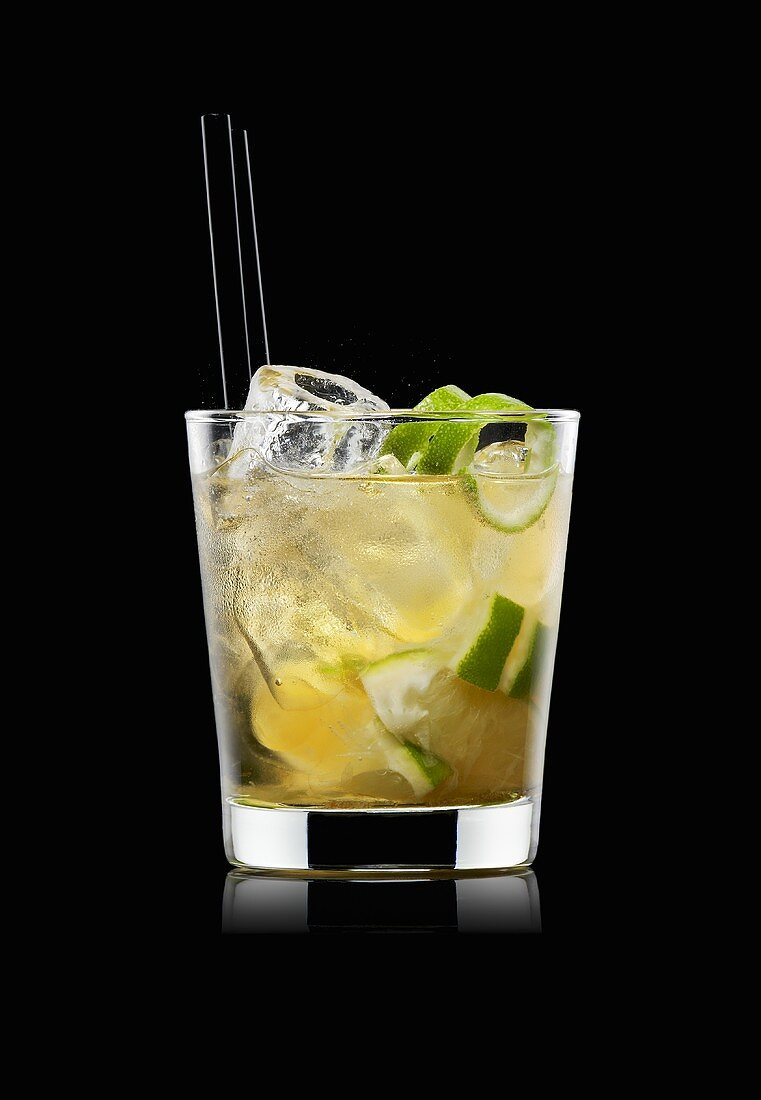 Ipanema (Non-alcoholic drink made with lime juice, brown sugar)
