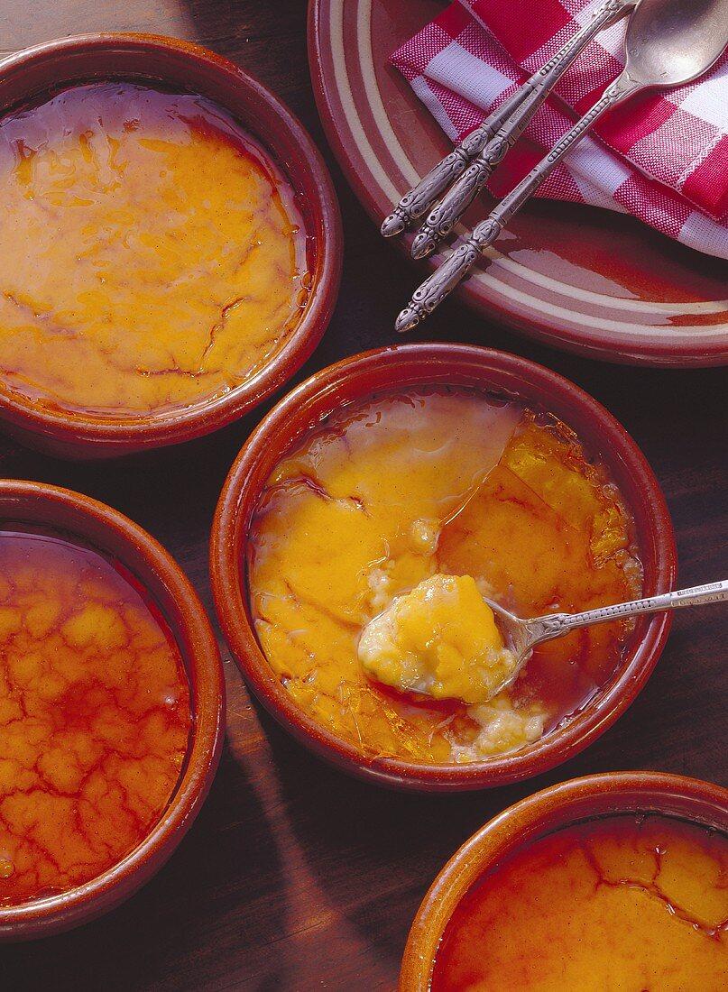 Catalan Mousse; Crema Catalana