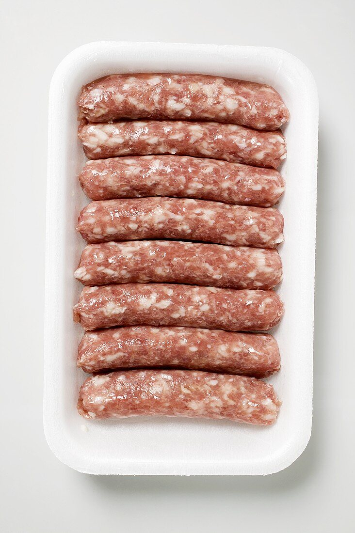 Salsicciole (skinless sausages, Italy)