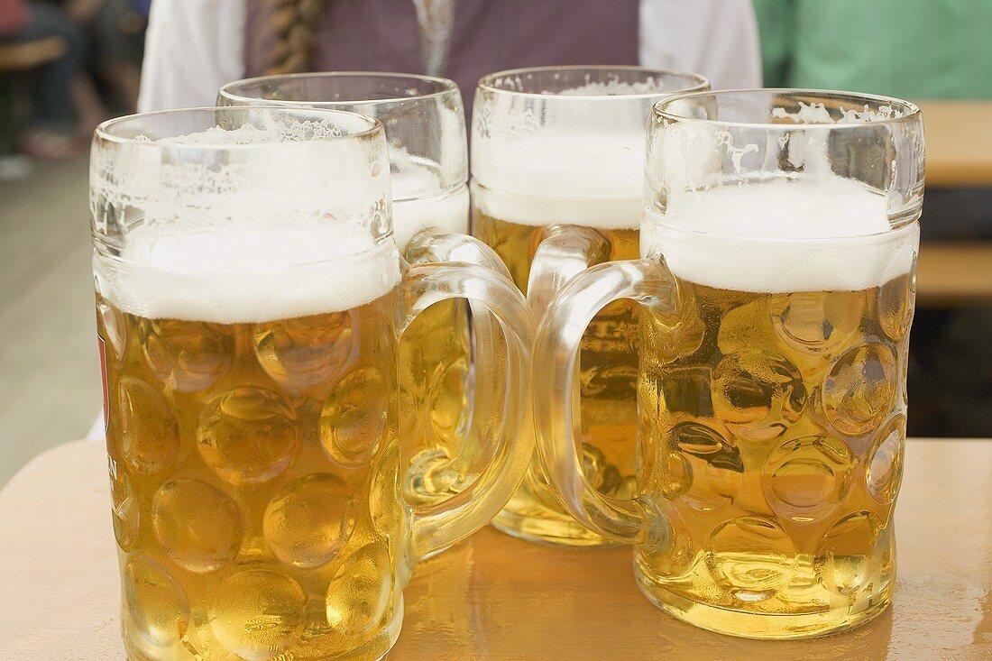 Four litres of beer (Oktoberfest, Munich)