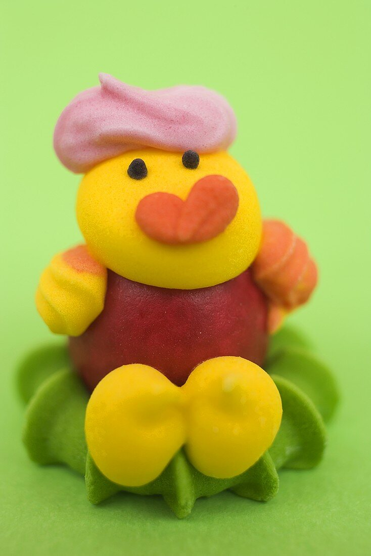 Marzipan chick (for Easter)