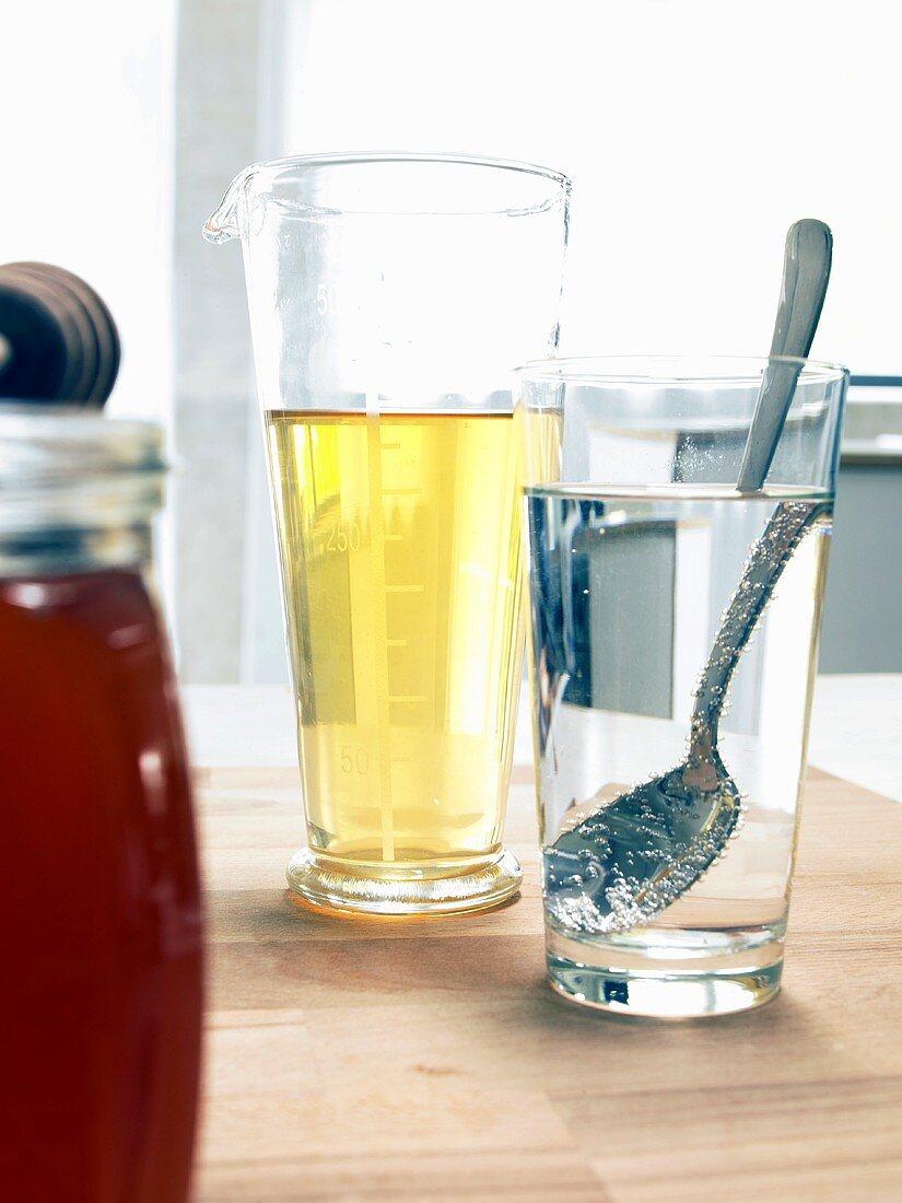 Sleep remedy: cider vinegar with lukewarm water & honey