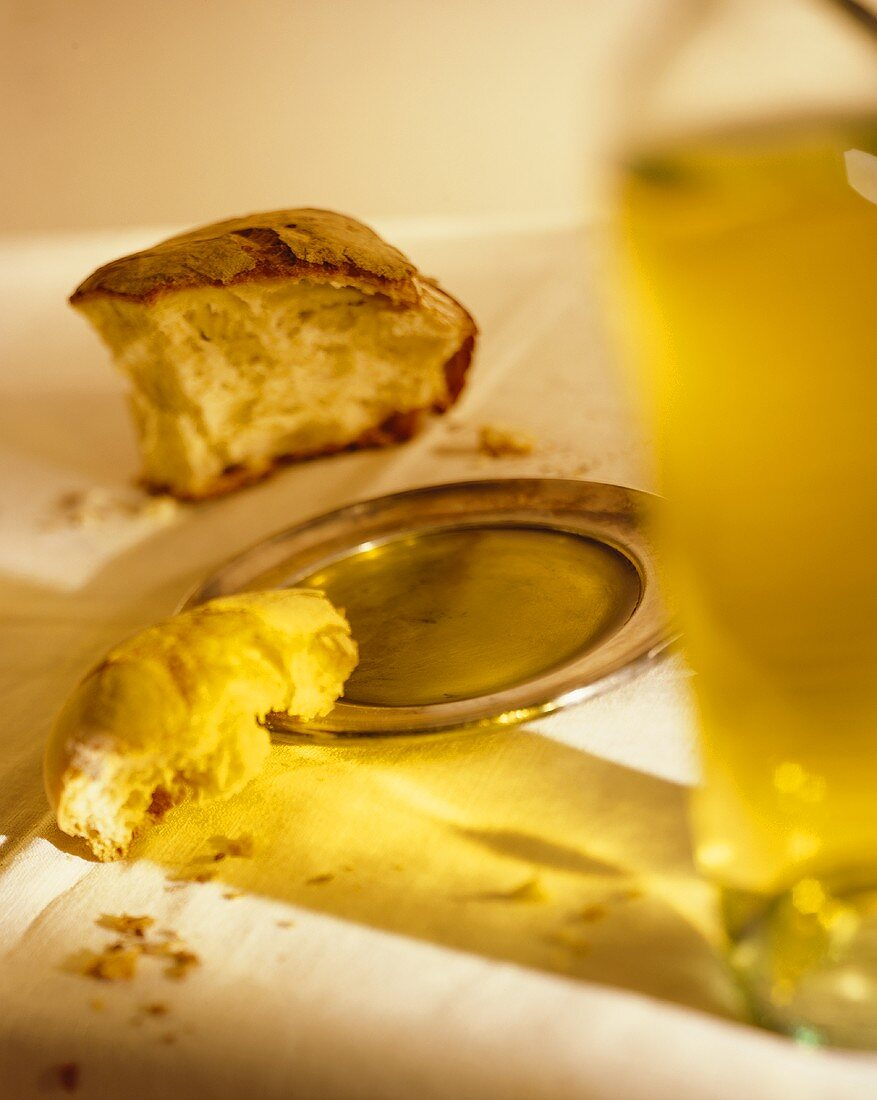 Crusty Bread with Olive Oil