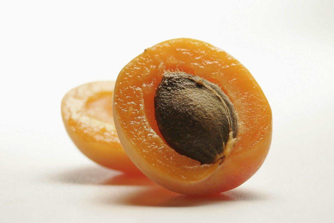 Half an apricot