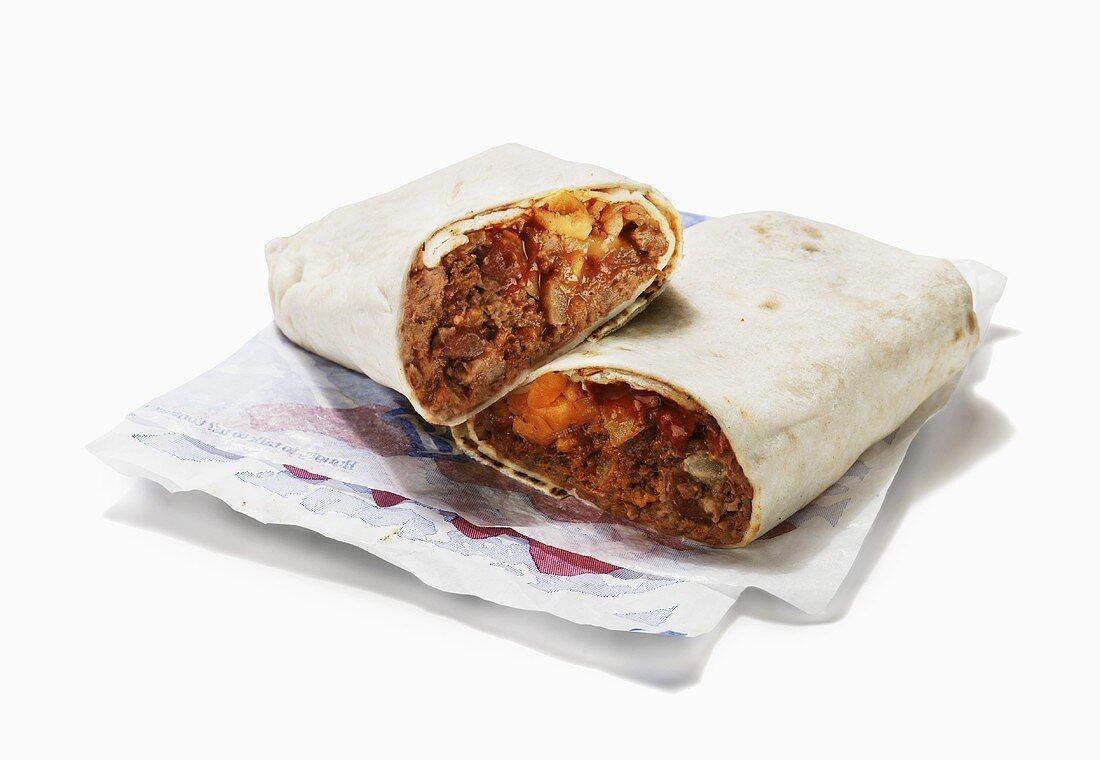 Fast Food Burrito