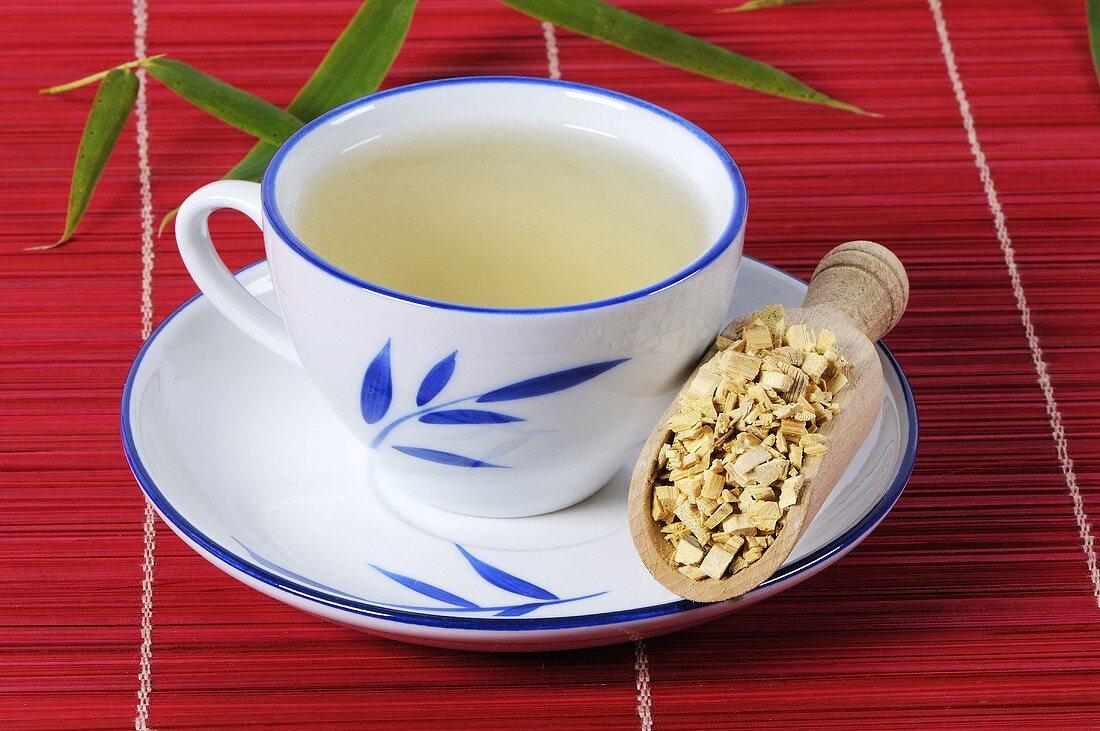 Clematis armandii tea (Clematis armandii Caulis, MuTong)