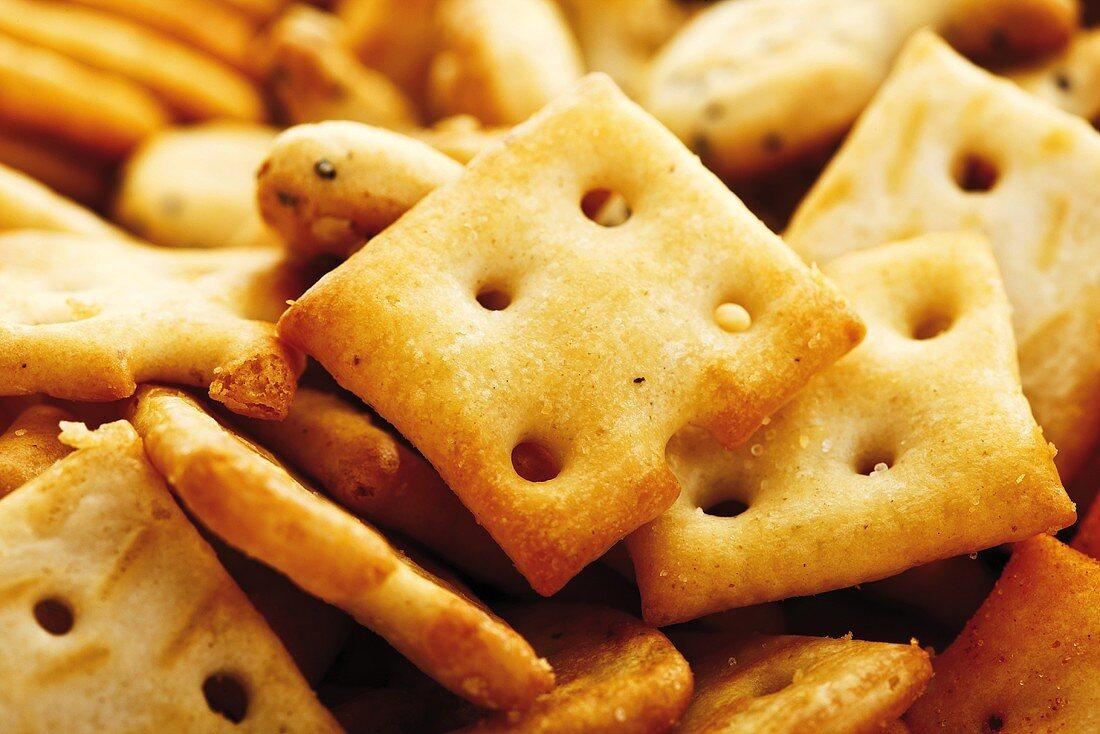Crackers, close-up