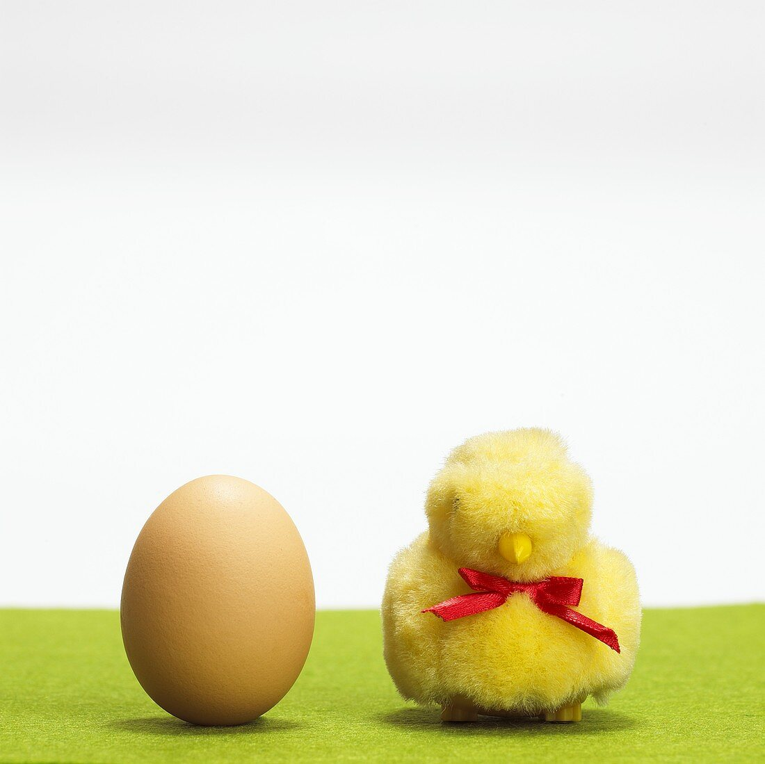 Egg and Easter chick