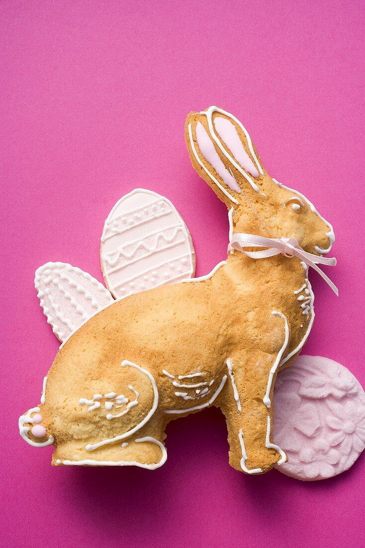 Easter baking (Easter Bunny, biscuits)
