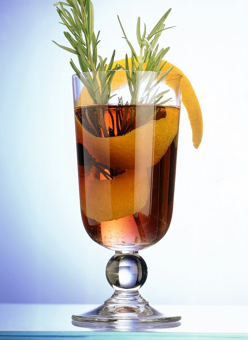 Hot Rosemary Drink