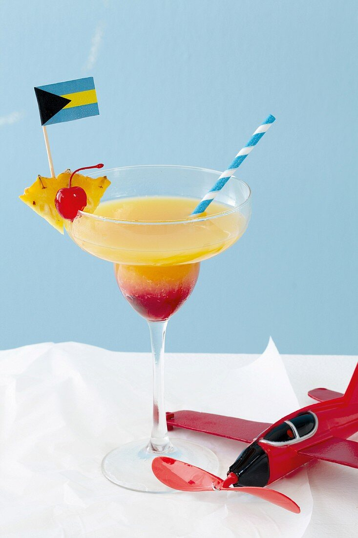 An alcohol-free cocktail for a children's party