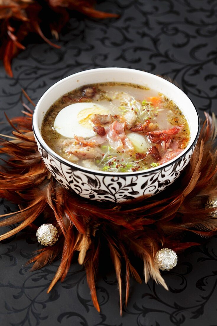 Traditional Easter soup