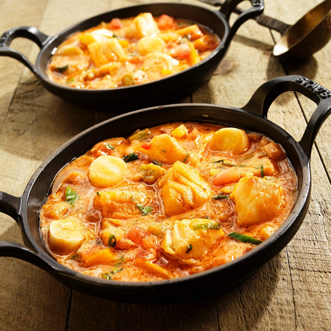Moqueca (Brazilian Fish Stew with Sea Bass and Hearts of Palm)